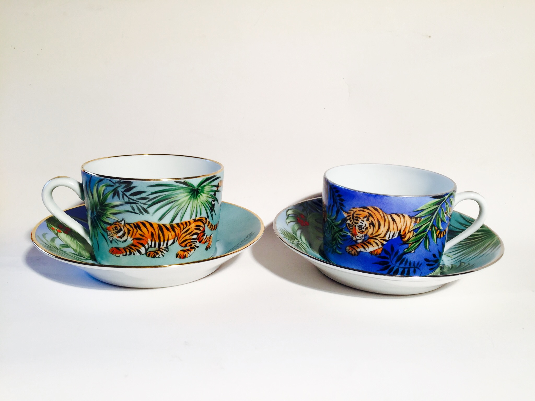 Tasses à the – tête à tête « Jungle »