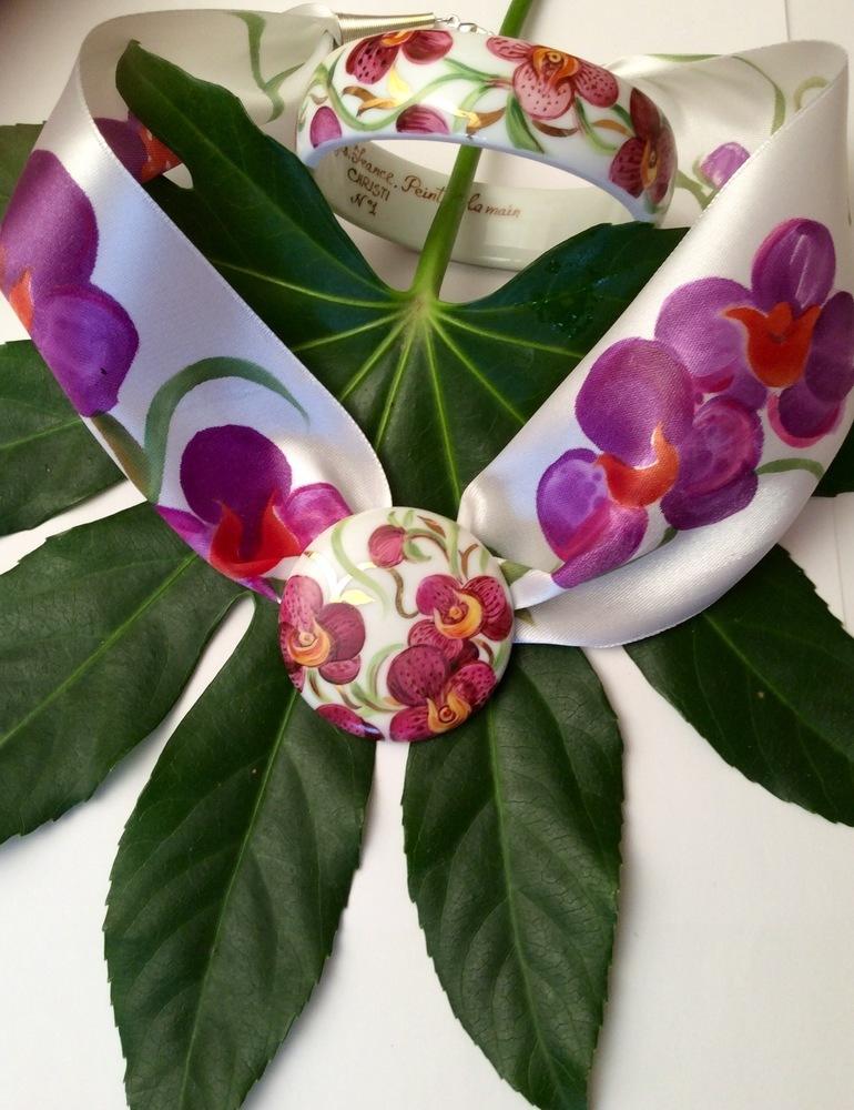 Orchidée Magenta