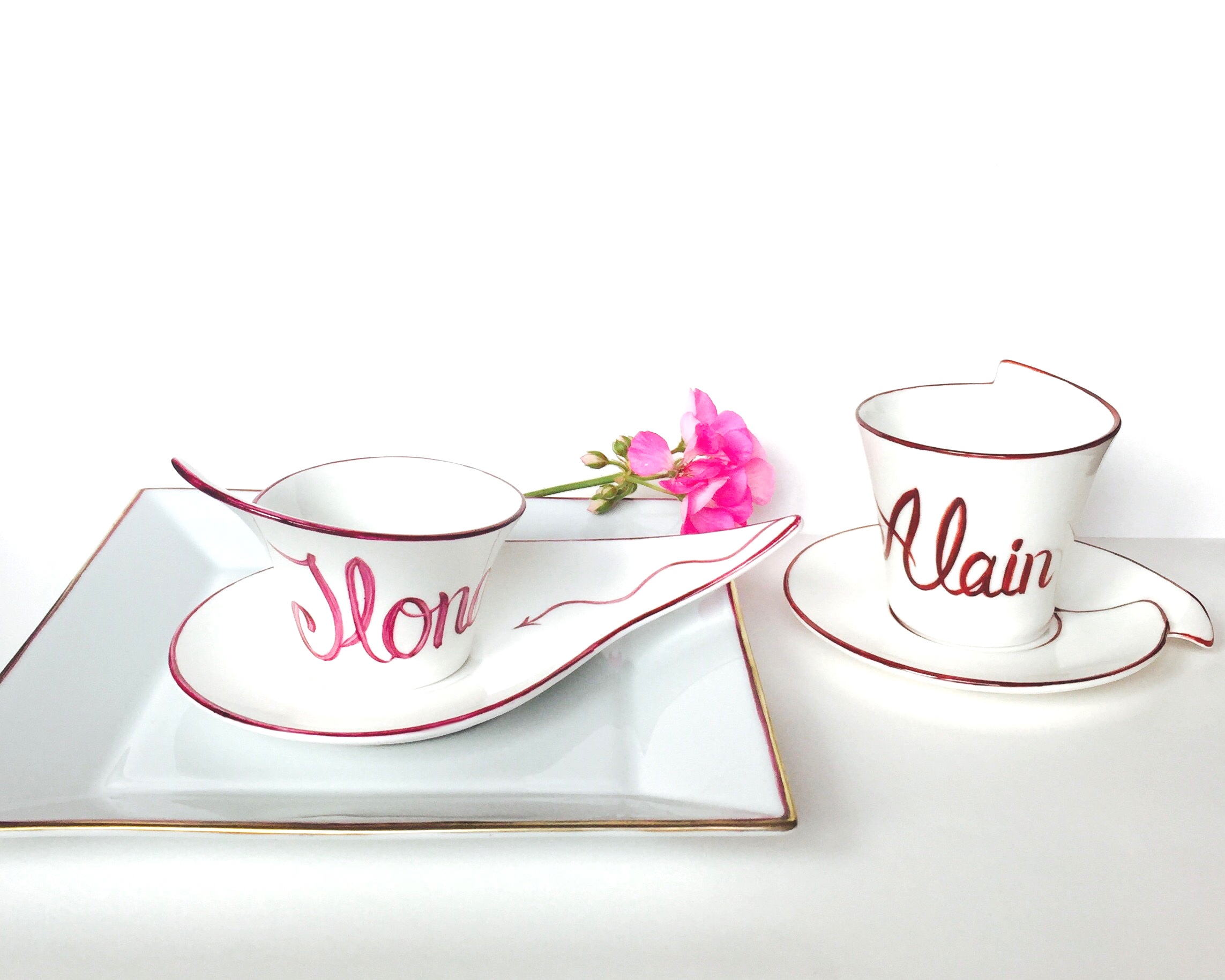 Tasse à café «Prénoms»
