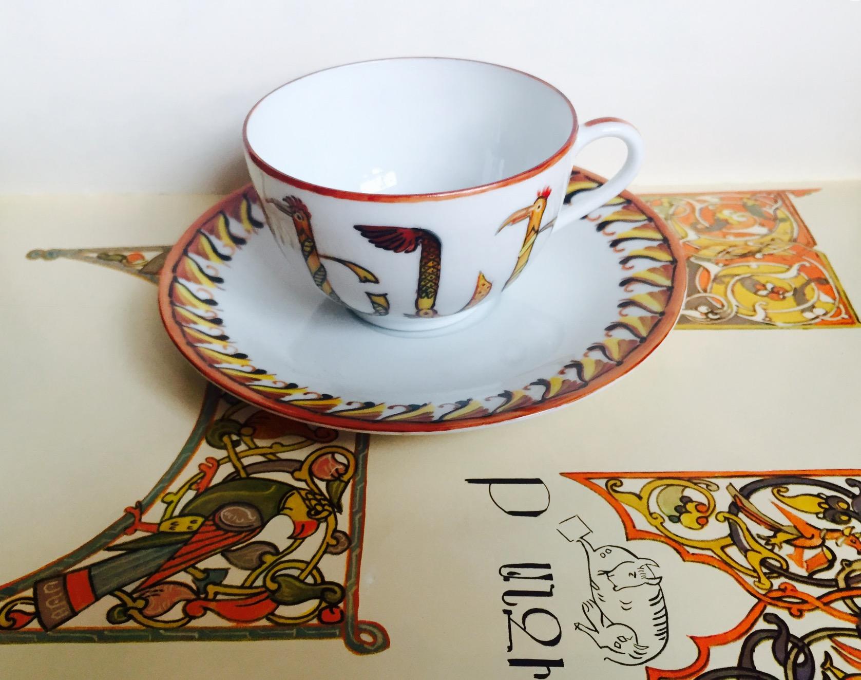 Tasse à thé «Miniature médiévale»
