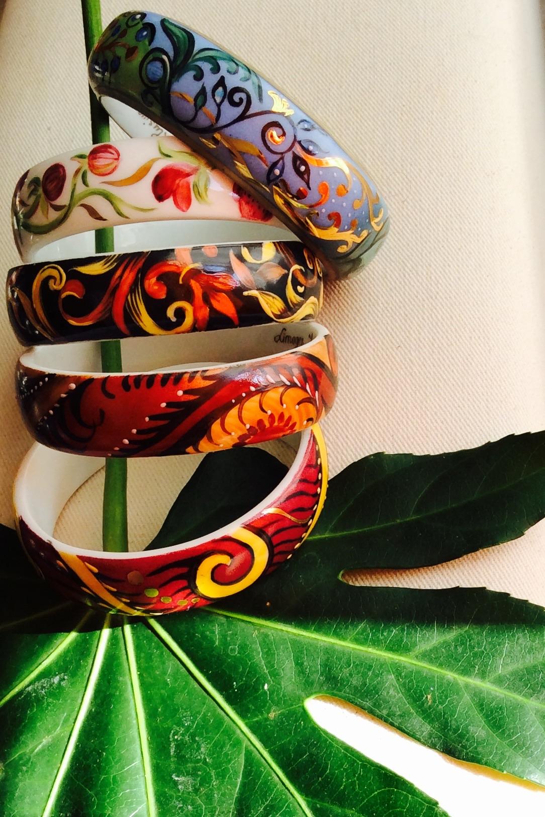 Bracelets en porcelaine