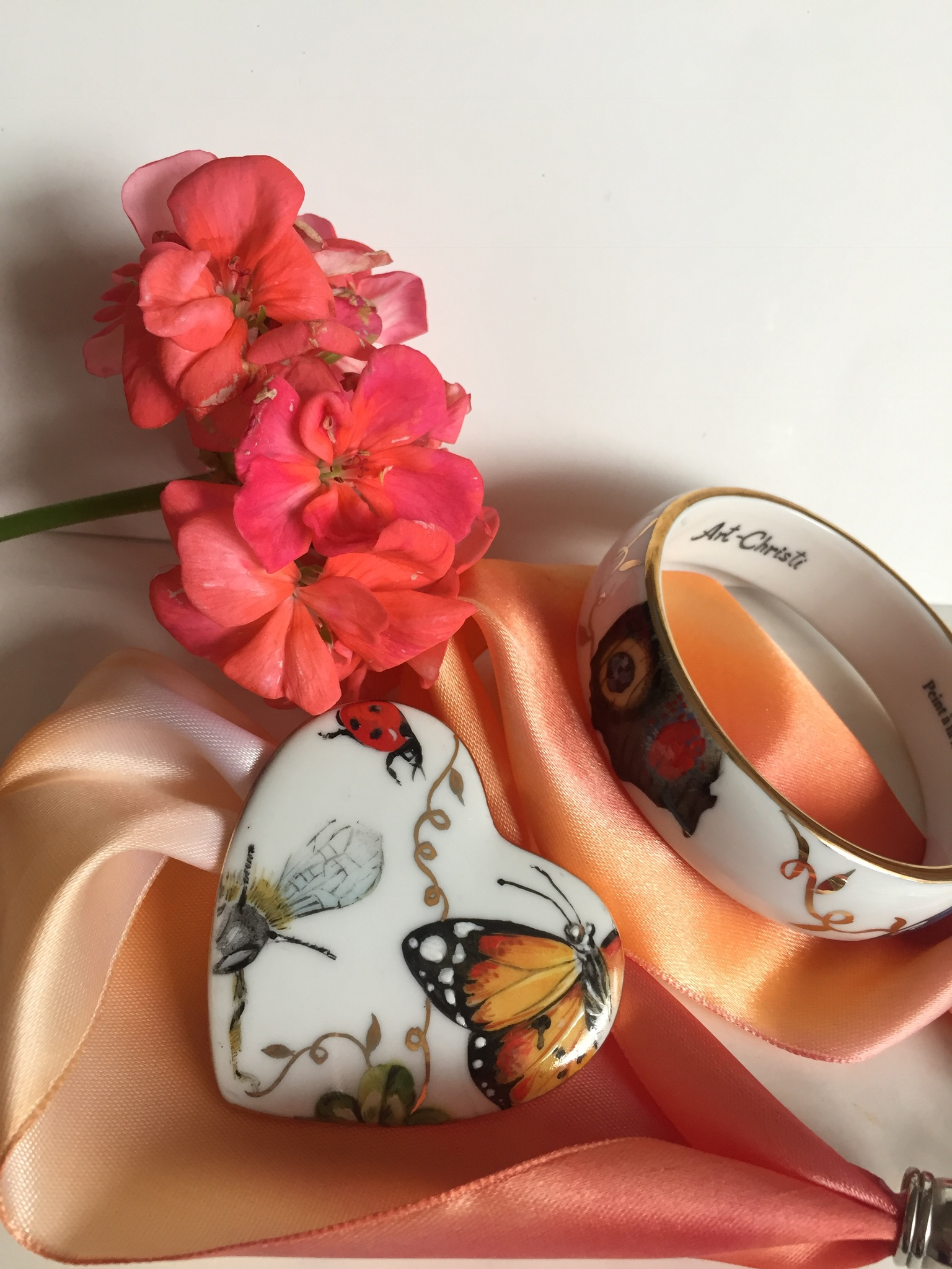 Collier & bracelet Papillon
