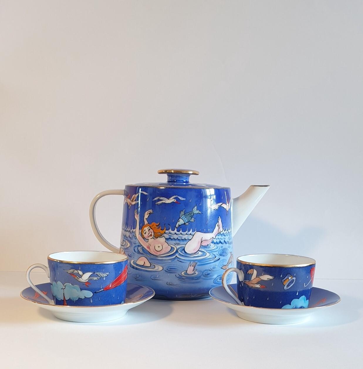 Service de thé en tête à tête