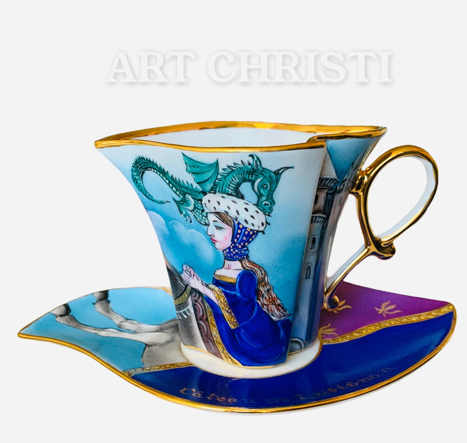 Tasse à thé LUSIGNAN